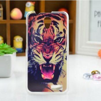 "Чехол для Lenovo A319 ""Тигр""  (пластик)"