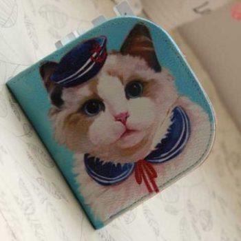 """Кошелек """"Кот-моряк"""" маленький"""