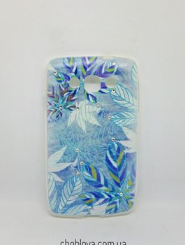 Diamond Silicone LG L60/X135/X145/X147 Frozen Leaves