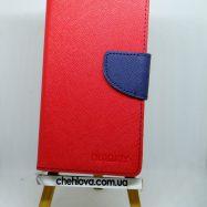 Чехол для Xiaomi Redmi 4a Книжка Goospery Fancy красная