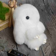 Брелок-кролик белый (13 см)