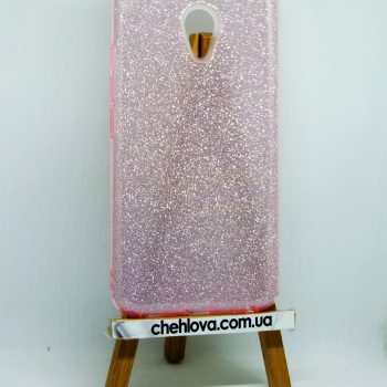 Чехол для MEIZU M5S TWINS розовый