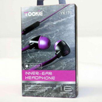 Наушники с микрофоном YOOKIE YK-170 фиолетовые