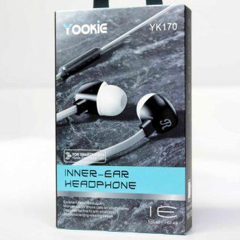Наушники с микрофоном YOOKIE YK-170 белые