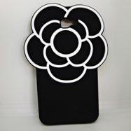 Чехол для Samsung J7 Prime Цветок черный 3D