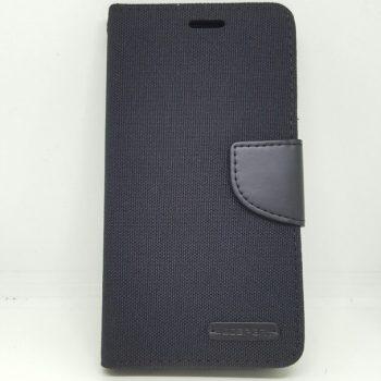 Чехол для Samsung J1 J100  Книжка Goospery Canvas черная
