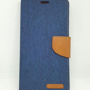 Чехол для Xiaomi Redmi Note 4 Книжка Goospery Canvas синяя