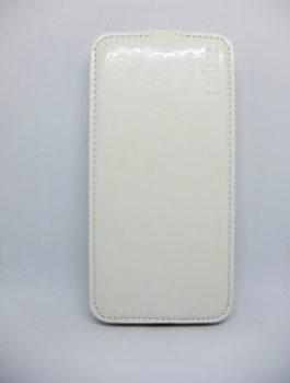 Флип Ulike силикон  для Meizu M2 Note  белый