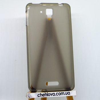 Чехол для Lenovo S8/S898 черный (силикон)