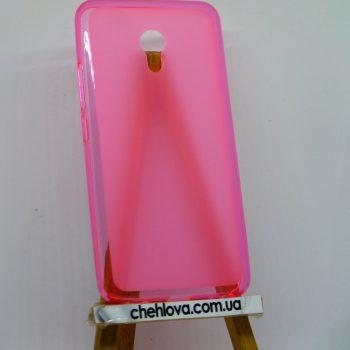 Чехол для Meizu M5 Note розовый (силикон)