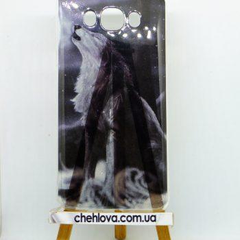 """Чехол для  SAMSUNG J120 MENDI """"Волк"""""""