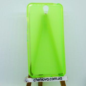 Чехол для Lenovo Vibe S1 зеленый (силикон)