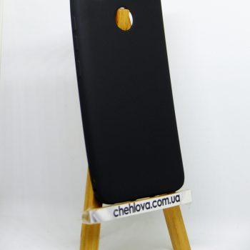 Чехол для Xiaomi Redmi 4x черный (силикон)