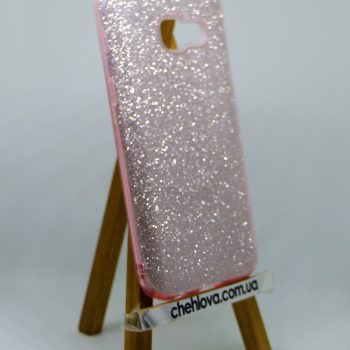 "Чехол для Samsung J5 Prime  ""TWINS"" бледно-розовый"