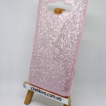 """Чехол для Samsung J7 J700 """"TWINS"""" розовый"""
