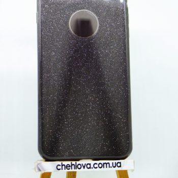 """Чехол для IPhone 7""""TWINS""""   3в1 черный"""