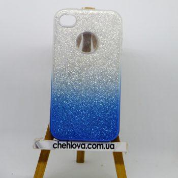 "Чехол для IPhone 7 Plus ""TWINS"" Ambre синий"
