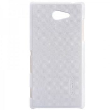 Чехол накладка Nillkin Matte Sony Xperia M2 (S50H) Белый