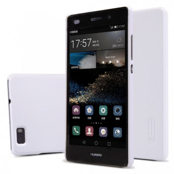 Чехол накладка Nillkin Matte Huawei P8 белый