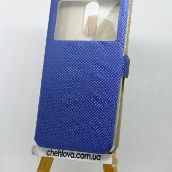 Чехол-книжка Style с окошком Xiaomi Redmi Note 4 синий