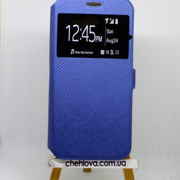 Чехол-книжка Style с окошком Samsung A520 синий