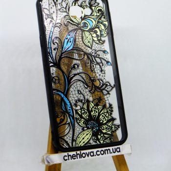 Чехол для Samsung J5 Prime (G570F/DS) Fashion цветы желтые