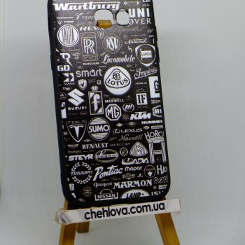 "Чехол для  Samsung A520 ""Car brands"""