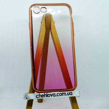 """Чехол для  iPhone 7  Plus """"Golden Collection"""" розовое  золото"""