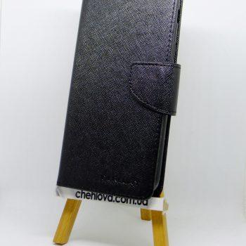 Чехол дляr Huawei Y7 (TRT-LX1) Goospery Fancy черная