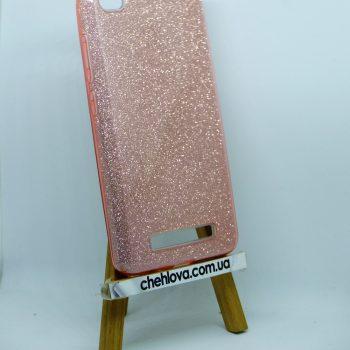 "Чехол для Xiaomi Redmi 4a ""TWINS""  розовый"