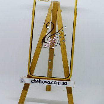 Чехол для Iphone 7  KINGXBAR DIAMOND золотой лебедь