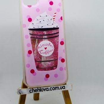 Чехол для  iPhone 7  Aqua Series Unicorn Coffee (силикон)