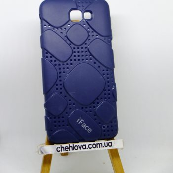 Чехол для Samsung J5 Prime  iFace силикон синий