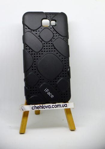 Чехол для Samsung J7 Prime  iFace силикон черный