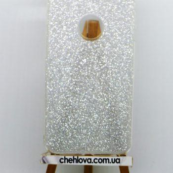 "Чехол для IPhone 7""TWINS""   3в1 серебро"