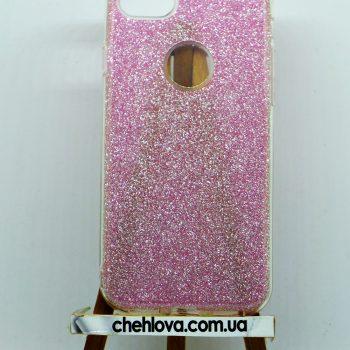 """Чехол для IPhone 7""""TWINS""""  3в1 бледно-розовый"""