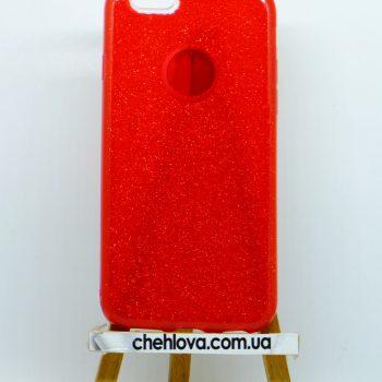 """Чехол для IPhone 7 """"TWINS"""" красный"""