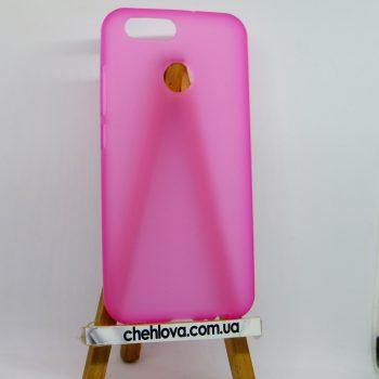 Чехол для Huawei Nova 2 розовый силикон