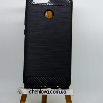 Чехол для Huawei Nova 2 черный силикон