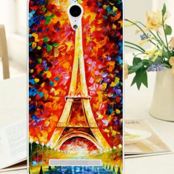"Чехол для  Asus Zenfone GO ZC500TG ""Башня картина"" (силикон)"