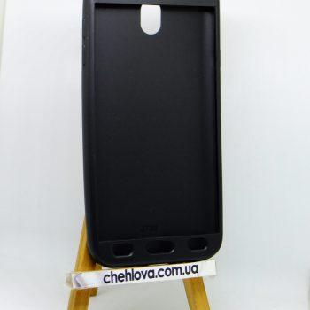 Чехол для Samsung J7 (2017) J730 Rock Matte 360 черный