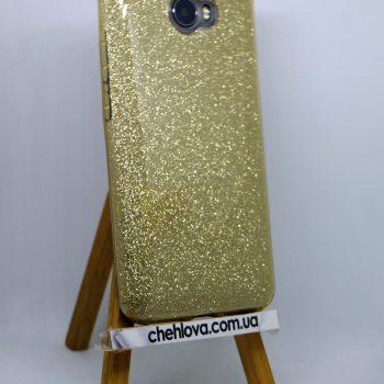 "Чехол для Huawei Y5 II ""TWINS"" золотой"