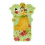 Чехол для iPhone 5/5S Disney Flower Princess Green