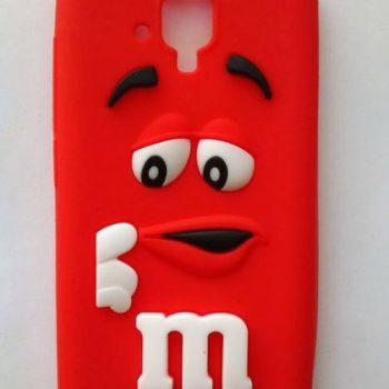 Чехол для Lenovo A536/358 Конфета  красная 3D