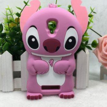 Чехол для Lenovo A1000 A2800d Стич розовый 3D