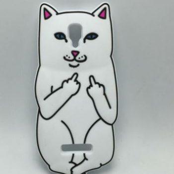 Чехол для Lenovo A1000 Нецензурный кот 3D