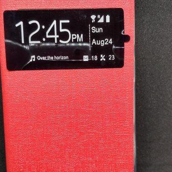 Чехол для  Lenovo A1000  Книжка ULIKE с окном красная