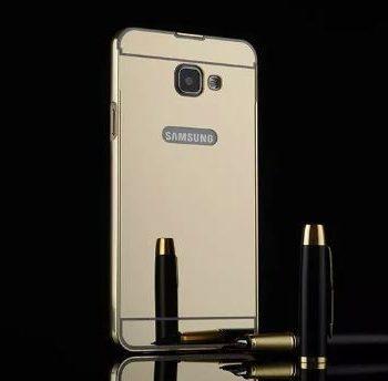 Зеркальный чехол для Samsung A5 (2016) A510  золото