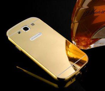 Зеркальный чехол для Samsung Core Prime G360/361 золото