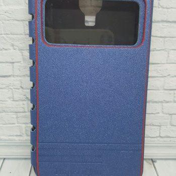 Чехол для Samsung S4 I9500 Imperium Книжка со скрытым магнитом и окном синяя